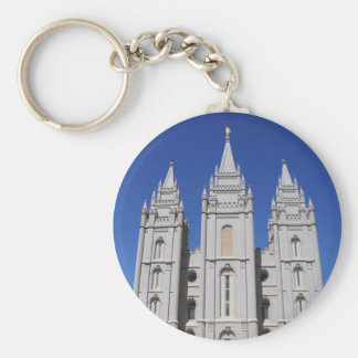 Mormon (LDS) Temple  in Salt Lake City, Utah Key Ring