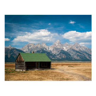 Mormon Row in Grand Teton National Park Postcard