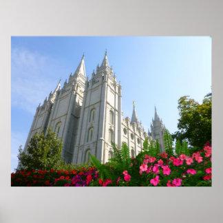 Mormon Temple Poster