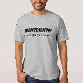 Mormons we're pretty normal t-shirts