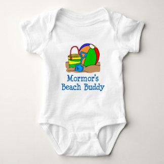 Mormor's Beach Buddy Baby Bodysuit