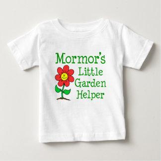 Mormor's Little Garden Helper Baby T-Shirt