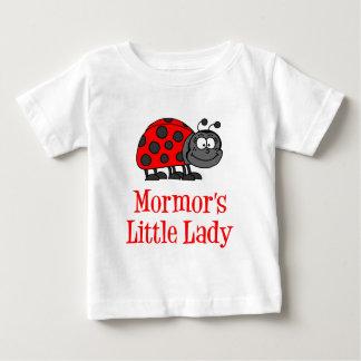 Mormor's Little Lady Baby T-Shirt