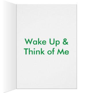 Mornin Lover Greeting Card
