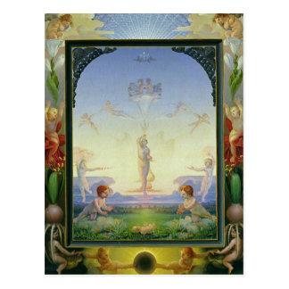 Morning, 1808 postcard