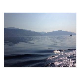 Morning at sea postcard
