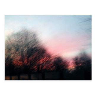 Morning Blur Postcard