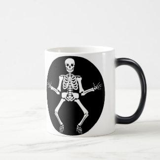 Morning Bones Skeleton Mug