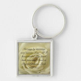 Morning by morning new mercies I see... Key Ring