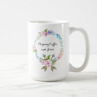 Morning Coffee and Jesus Classic Mug