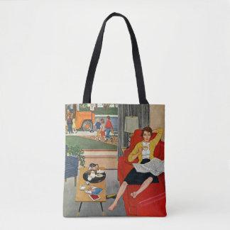 Morning Coffee Break Tote Bag