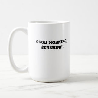 morning, coffee, mug, cup, fun, glassware coffee mug