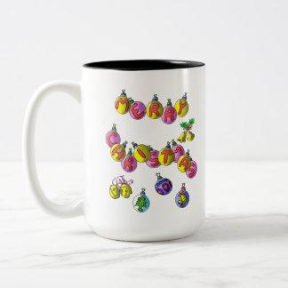 Morning coffee mug jingle bells
