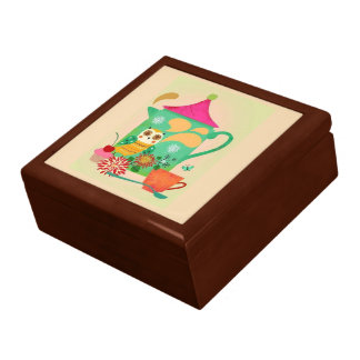 Morning Coffee Owl Gift Box