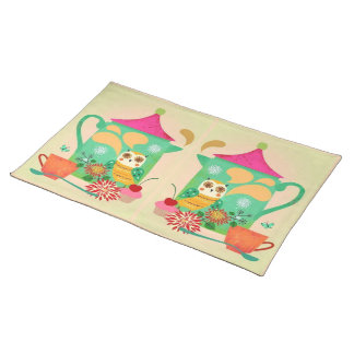 Morning Coffee Owl Placemat