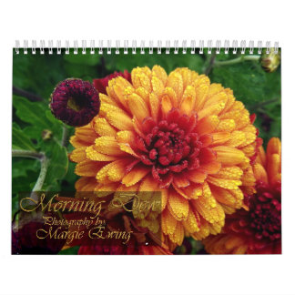 Morning Dew And Water Drop Calendar