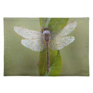 Morning Dew Dragonfly Placemat