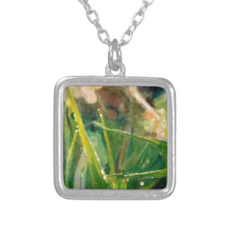 Morning Dew On Grass Necklaces