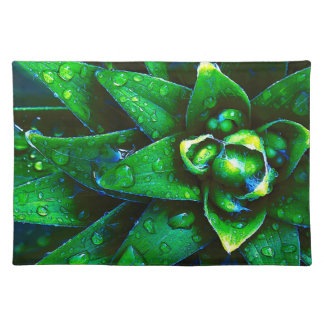 Morning Dew On Plant Placemats