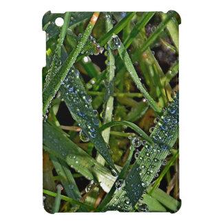 Morning dew on the grass iPad mini case
