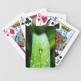 Morning Dew Water Droplet Poker Deck