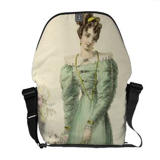 Morning Dress, fashion plate from Ackermann's Repo Messenger Bag