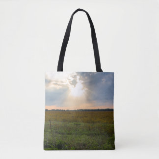 Morning Explosion Tote Bag