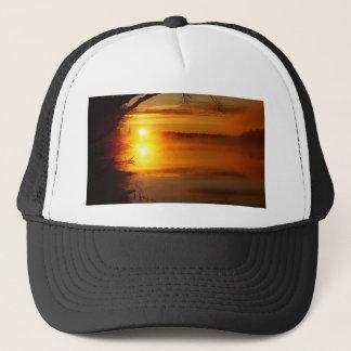 Morning Fire Trucker Hat