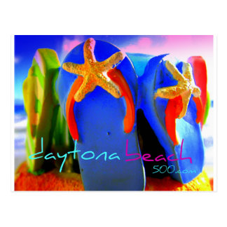 Morning Flip Flops Postcard