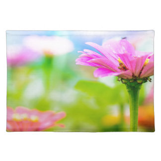 Morning flowers placemat