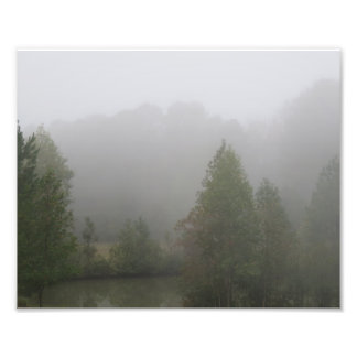 Morning Fog Photo Print