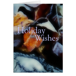 Morning Frost Holiday Card