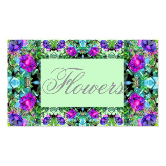 Morning Glories Flowery Gardening Business Card 5