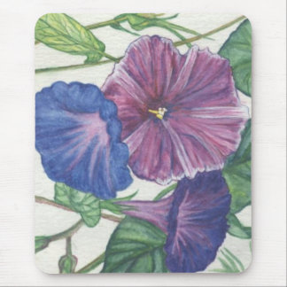 Morning Glories Mouse Pad