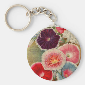 Morning Glories Seed Packet Keychain