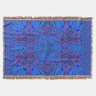Morning Glory 1 Throw Blanket