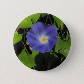 Morning Glory 6 Cm Round Badge
