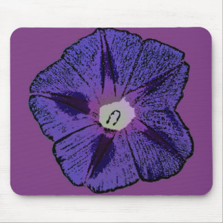 Morning Glory Abstract Mouse Pad