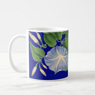 Morning Glory Botanical Floral Flowers Mug