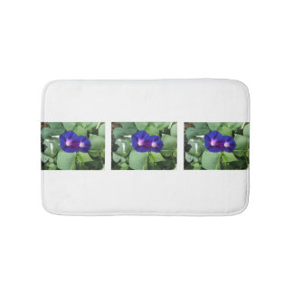 Morning Glory Flower Bath Mat Bath Mats