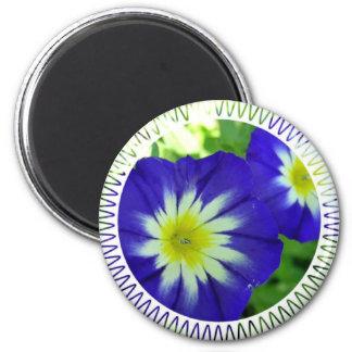 Morning Glory Flower Magnet Magnet
