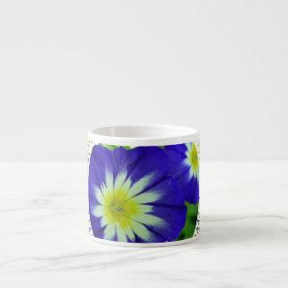 Morning Glory Flower Specialty Mug Espresso Mug