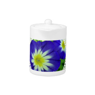 Morning Glory Flower Teapot