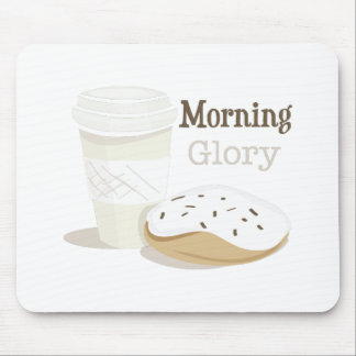 Morning Glory Mouse Pad