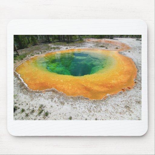 Morning Glory Pool, Yellowstone Nationa... Mousepads
