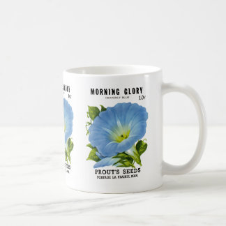 Morning Glory Vintage Seed Packet Coffee Mugs