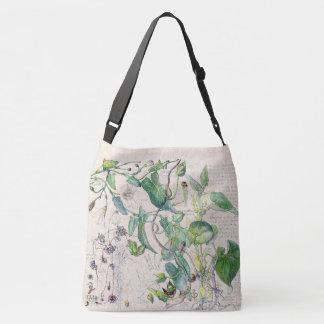 Morning Glory Wildflower Flowers Tote Bag