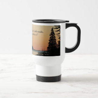 """Morning glow, """"This is the day!"""" Coffee Mugs"""