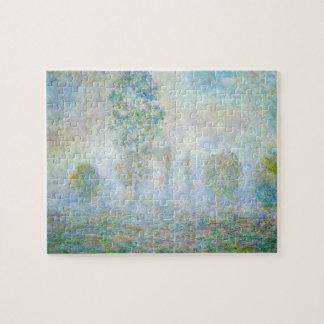 Morning Haze Claude Monet Fine Art Jigsaw Puzzle