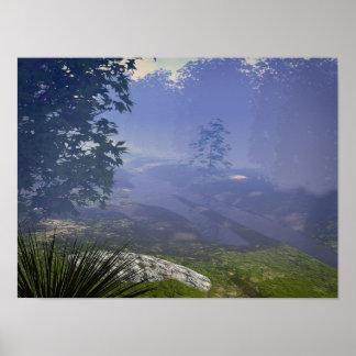Morning Haze Poster
